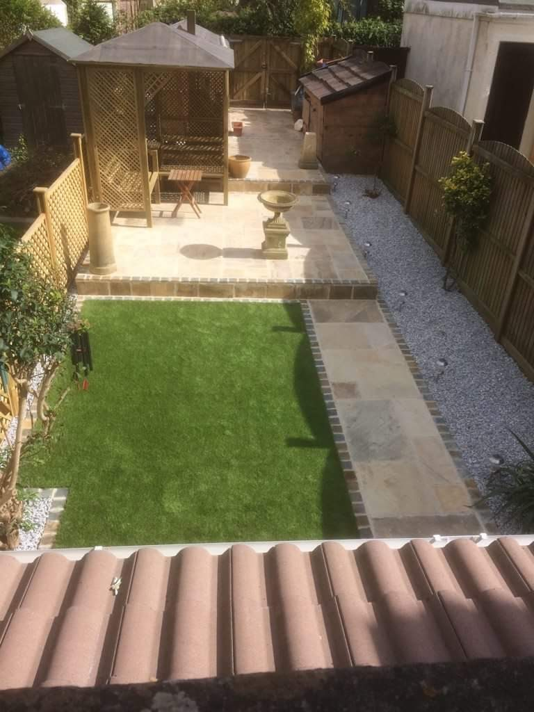 3 Tier Garden Renovation