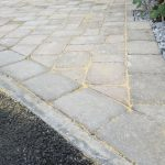 Country cobble driveway in bath