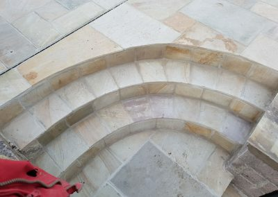 Fossil Mint Sandstone Patio Shoscombe