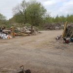 ongoing works at cooks wood