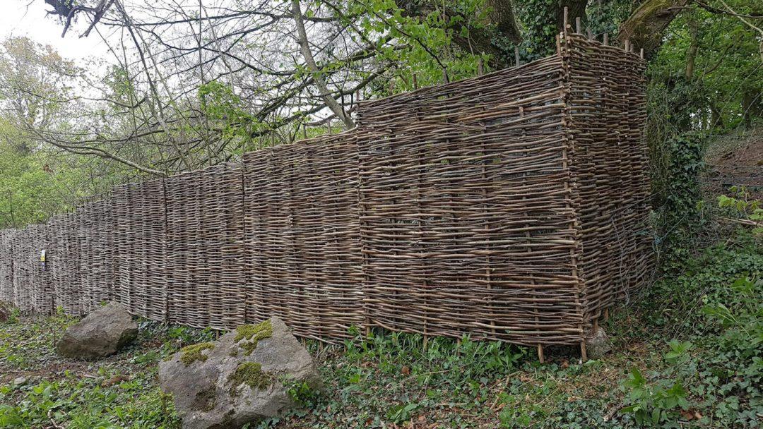 Whittled fencing (Bristol)