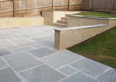 A small garden renovation in Paulton
