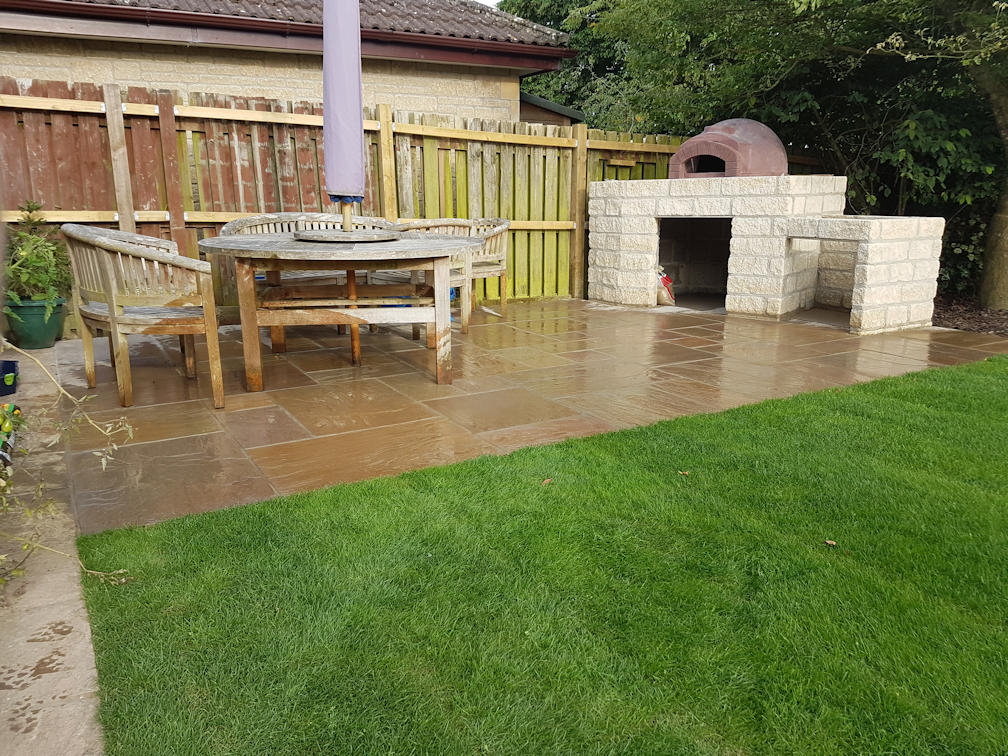 Garden transformation and pizza oven build in Timsbury - JSW ...