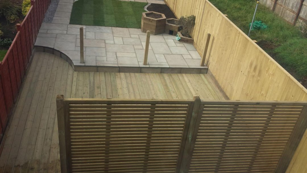 Garden transformation in Westfield/Radstock