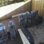 Garden renovation in chilcompton