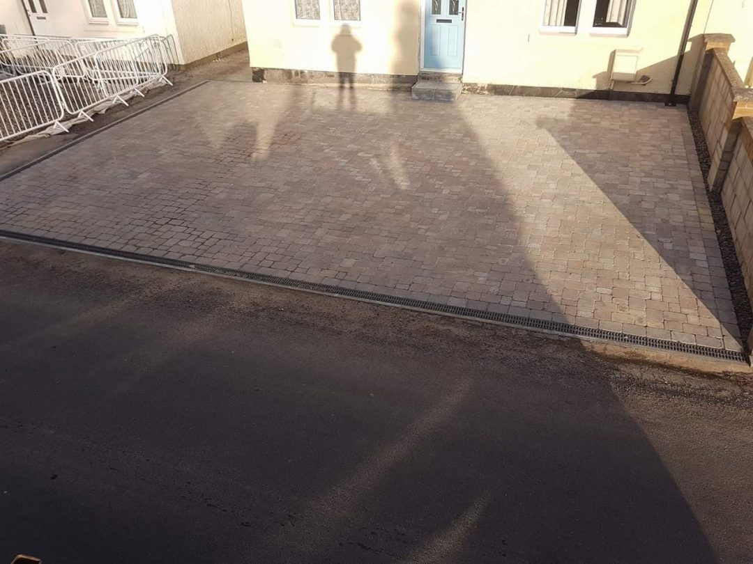 A driveway transformation in Coleford