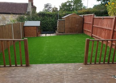 Artificial Grass installation in Glastonbury