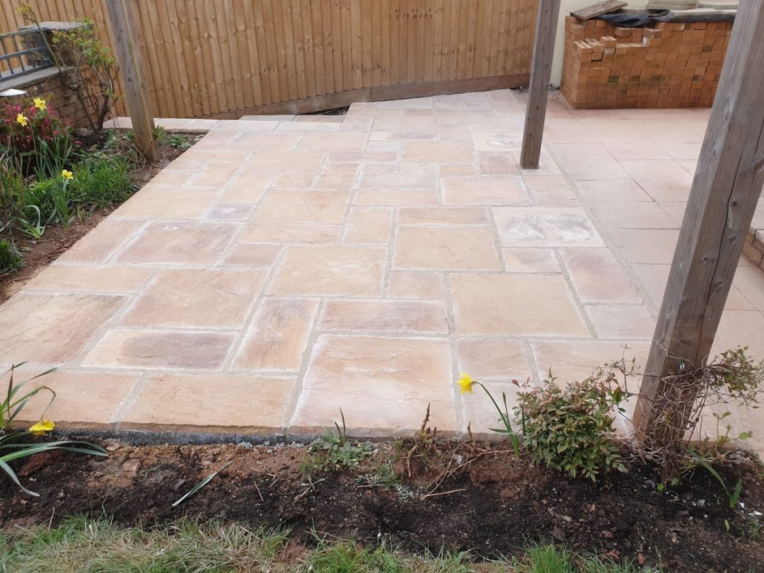 Patio and Steps – Midsomer Norton