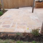 Midsomer norton Patio area for hot tub