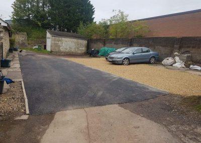 Ground work – Haydon, Radstock