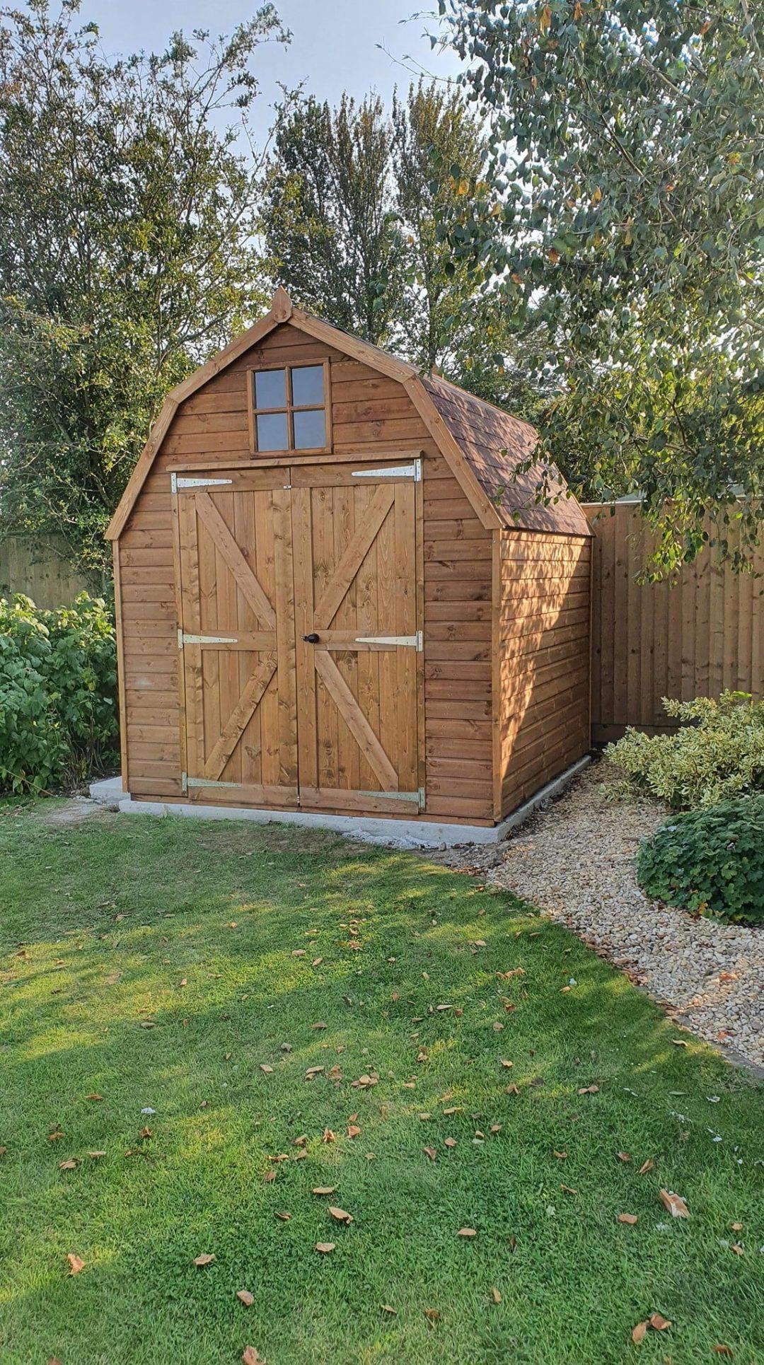Dutch Barn installation