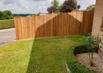 Perimeter fence installation