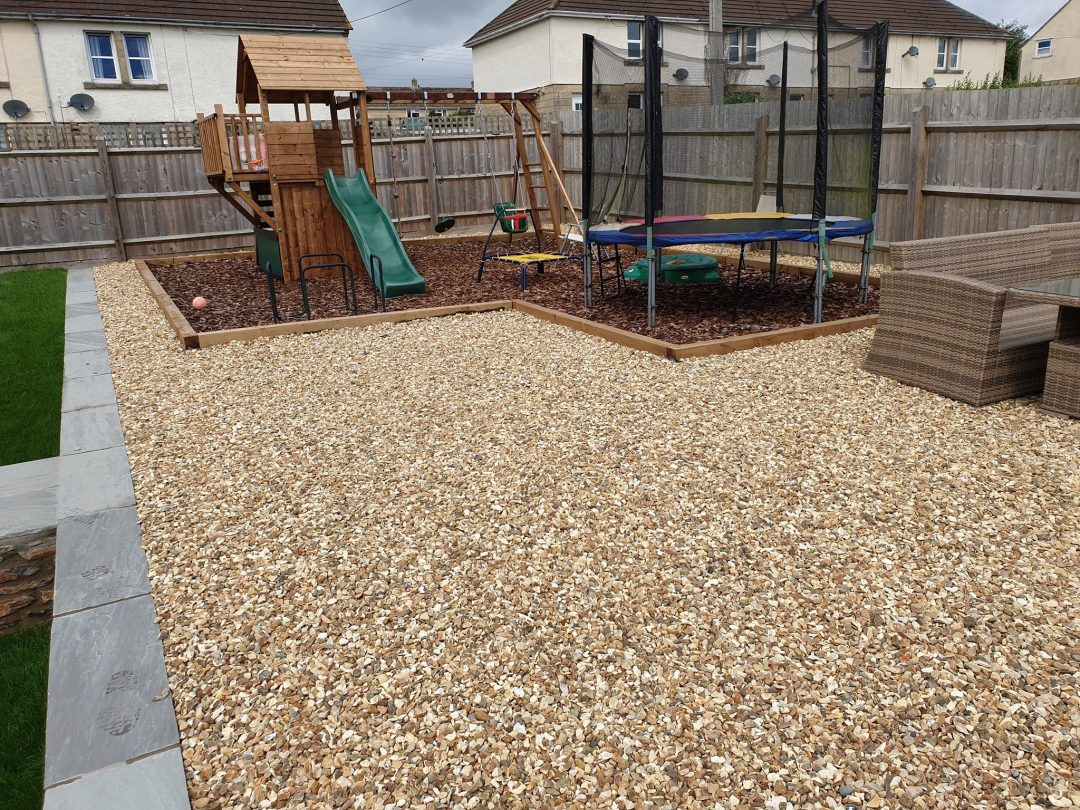 Garden play area – Clandown
