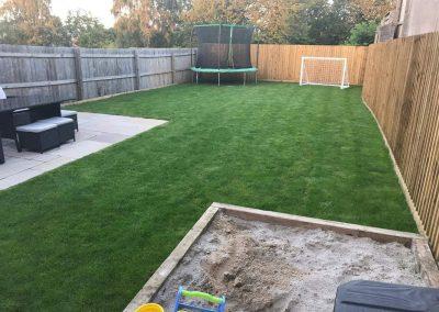 Garden transformation in Paulton